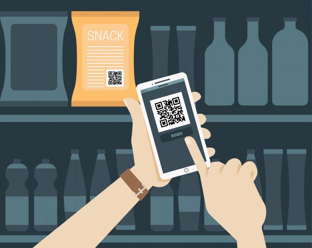 qr code in retail store marketin